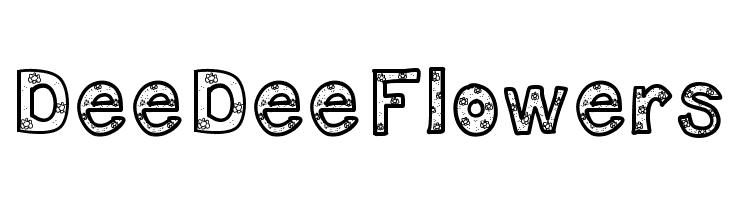 DeeDeeFlowers  Free Fonts Download