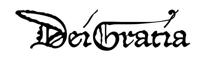 DeiGratia  Скачать бесплатные шрифты