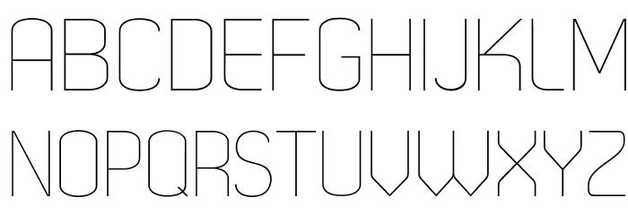 Dekar-Light Fonte MAIÚSCULAS