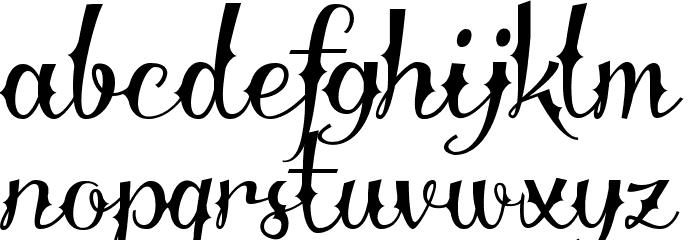 Delinquente alt I Demo Font Litere mici