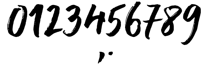 Delirium Sample لخطوط تنزيل حرف أخرى