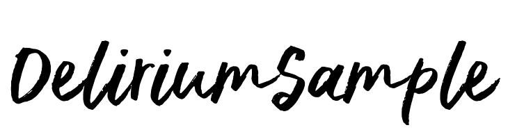 DeliriumSample  لخطوط تنزيل