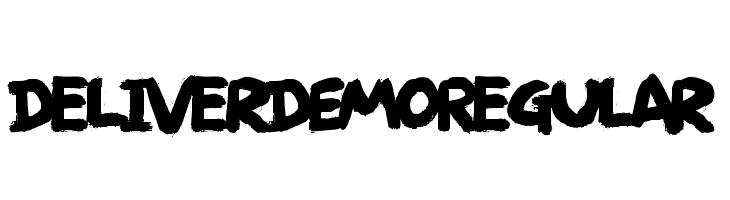 Deliver DEMO Regular Font