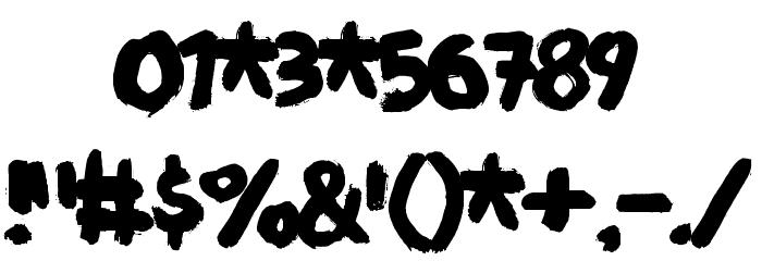 Deliver DEMO Regular Font OTHER CHARS