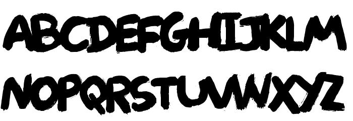 Deliver DEMO Regular Font UPPERCASE