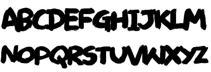 Deliver DEMO Regular Font LOWERCASE