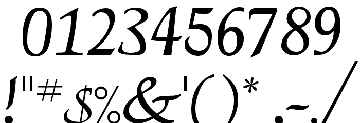 Deloise Font OTHER CHARS