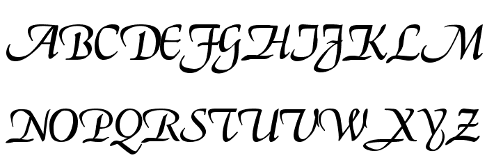Deloise Font UPPERCASE