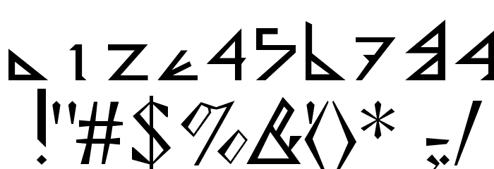 Deltoid Font OTHER CHARS