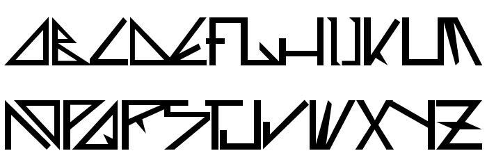 Deltoid Font UPPERCASE