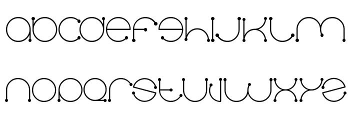 Dennisvalera Font UPPERCASE