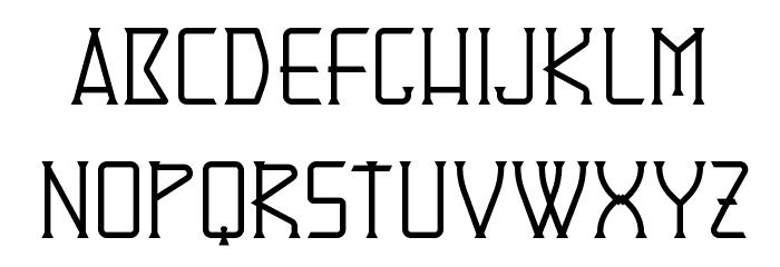 Denominator Schriftart Kleinbuchstaben
