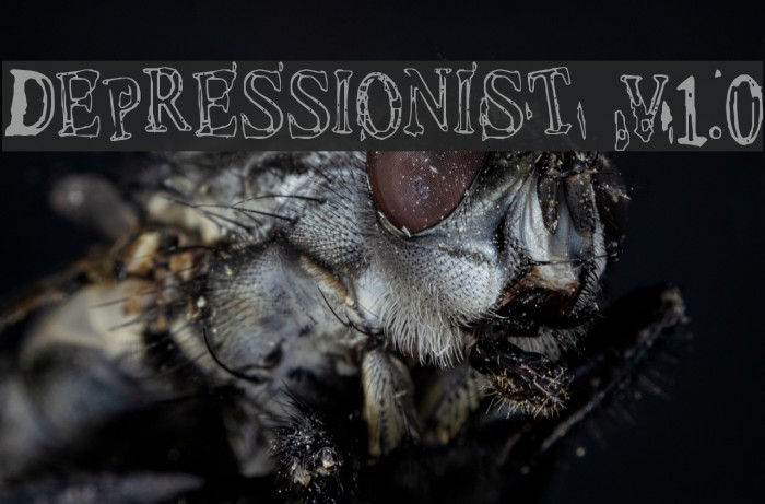 Depressionist v1.0 Fonte examples