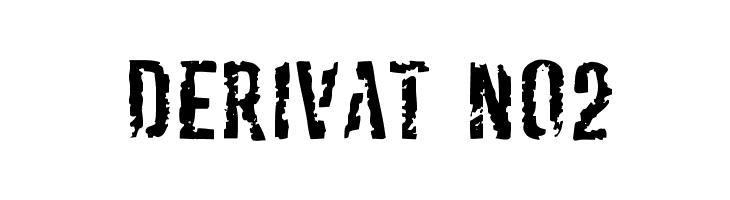 Derivat No2  Free Fonts Download