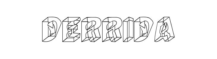 Derrida  Free Fonts Download