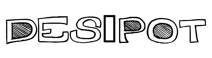 Des-Pot  Free Fonts Download