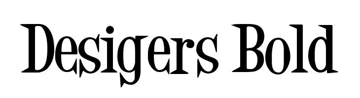 Desigers Bold  Free Fonts Download