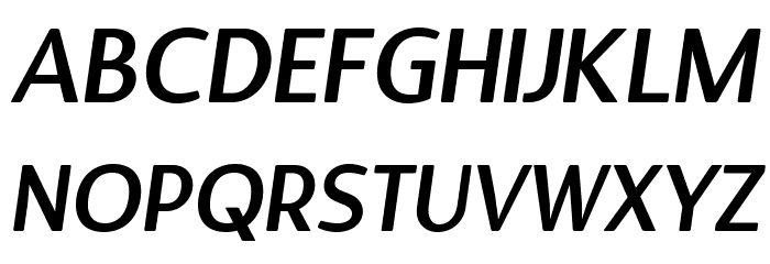 Designosaur-Italic Font UPPERCASE