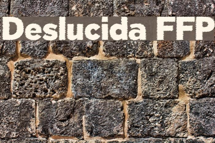 Deslucida FFP फ़ॉन्ट examples