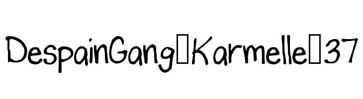 DespainGang_Karmelle_37  Free Fonts Download