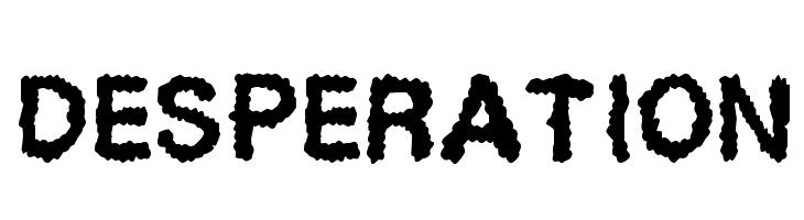 Desperation  Free Fonts Download