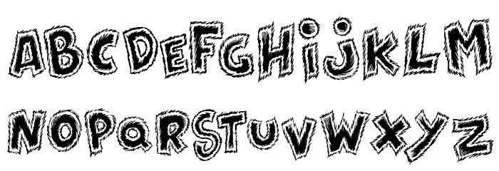 Destroy Font UPPERCASE