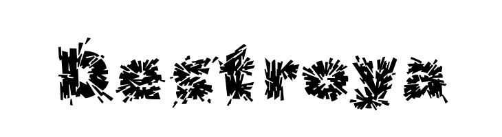 Destroy Font LOWERCASE