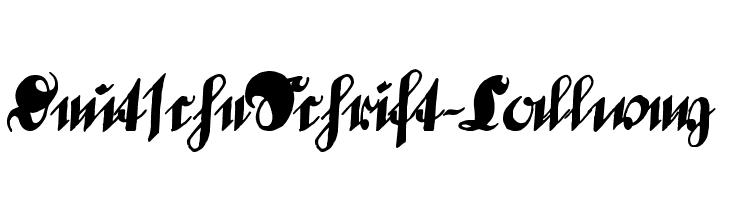 DeutscheSchrift-Callwey  Скачать бесплатные шрифты