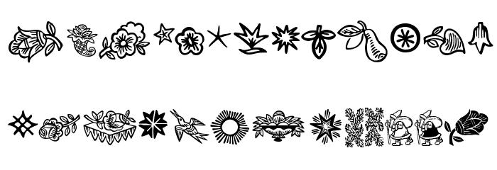 DeutscherSchmuck Font Litere mici
