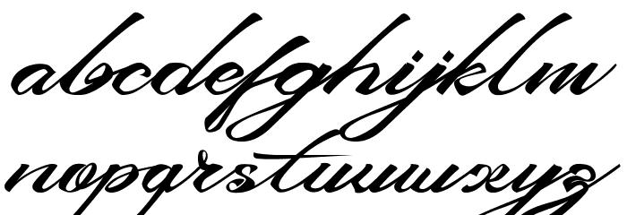 DevilEastFree Font LOWERCASE