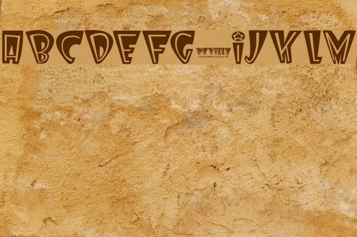 Deville Font examples