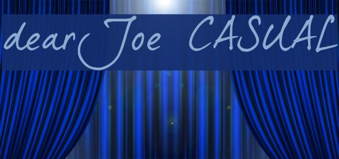 dearJoe 5 CASUAL फ़ॉन्ट examples