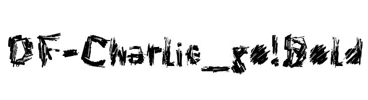 DF-Charlie_go! Bold  नि: शुल्क फ़ॉन्ट्स डाउनलोड
