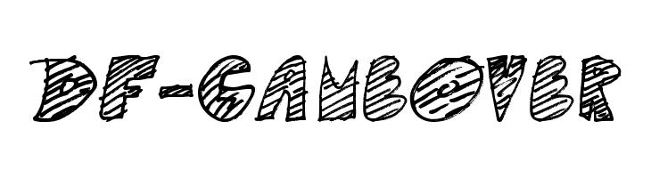 DF-GameOver  免费字体下载