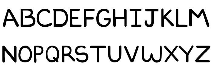 DILBERTFONT2 Font LOWERCASE