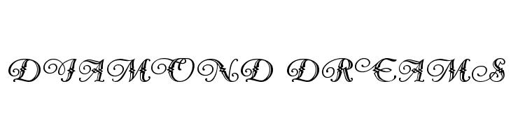 Diamond Dreams  Free Fonts Download