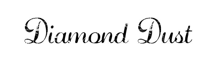 Diamond Dust   baixar fontes gratis