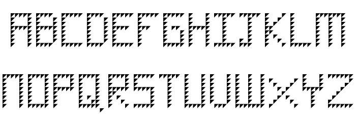 Diamond Regular Font UPPERCASE