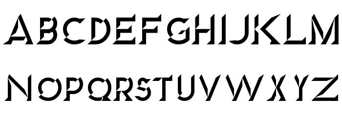 Diamond Font UPPERCASE