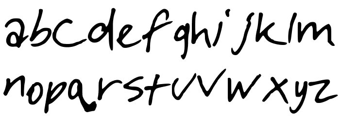 DiamondsintheSky Font LOWERCASE