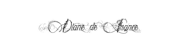 Diane de France  baixar fontes gratis