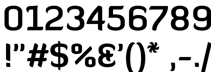 Diavlo Bold Regular Font OTHER CHARS