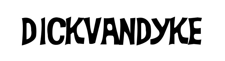 DickVanDyke  Free Fonts Download