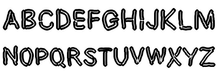 Dictator Chalk لخطوط تنزيل الأحرف الكبيرة