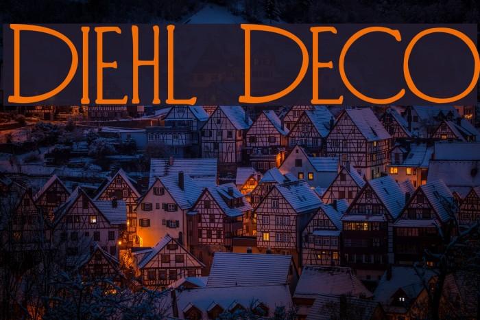 Diehl Deco Fonte examples