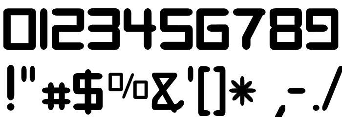Digitalis Font OTHER CHARS