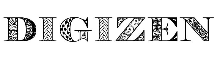 Digizen  Frei Schriftart Herunterladen