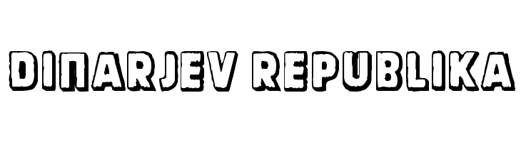 Dinarjev Republika  Free Fonts Download