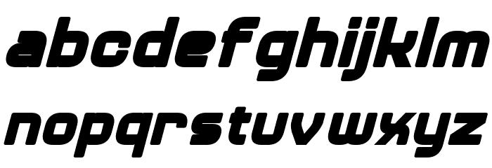 Diner Bold Italic 字体 小写