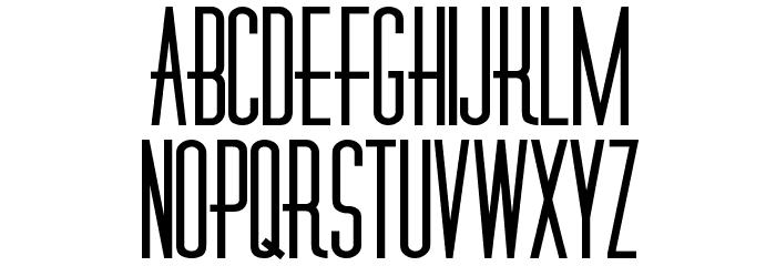 Diner-Fatt Font UPPERCASE